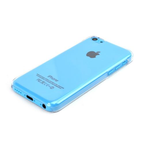 Clear Hard Back Cover Case for Apple iPhone 5C - XXIP5C