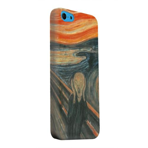 Geeks Designer Line (GDL) Apple iPhone 5C Matte Hard Back Cover - Edward Munch The Scream