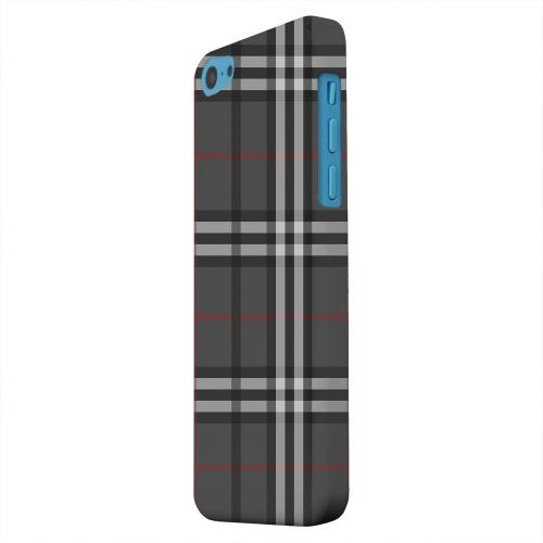 Geeks Designer Line (GDL) Apple iPhone 5C Matte Hard Back Cover - Classic Dark White/ Red Plaid