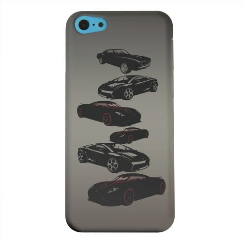 Geeks Designer Line (GDL) Apple iPhone 5C Matte Hard Back Cover - Sports Cars You Can't Afford