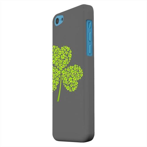 Geeks Designer Line (GDL) Apple iPhone 5C Matte Hard Back Cover - Clover Burst