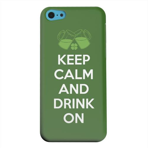 Geeks Designer Line (GDL) Apple iPhone 5C Matte Hard Back Cover - Drink On