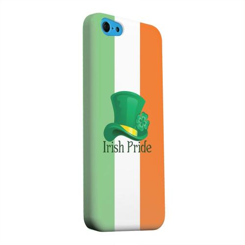 Geeks Designer Line (GDL) Apple iPhone 5C Matte Hard Back Cover - Irish Pride