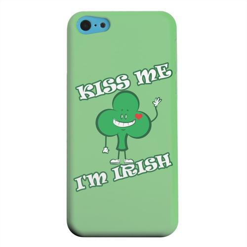 Geeks Designer Line (GDL) Apple iPhone 5C Matte Hard Back Cover - Kiss Me