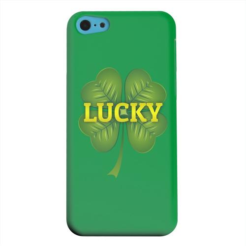 Geeks Designer Line (GDL) Apple iPhone 5C Matte Hard Back Cover - Lucky