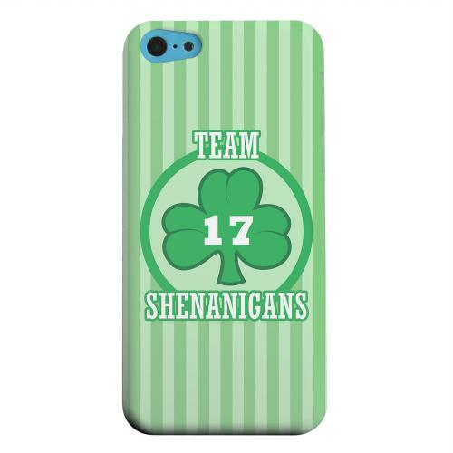 Geeks Designer Line (GDL) Apple iPhone 5C Matte Hard Back Cover - Team Shenanigans