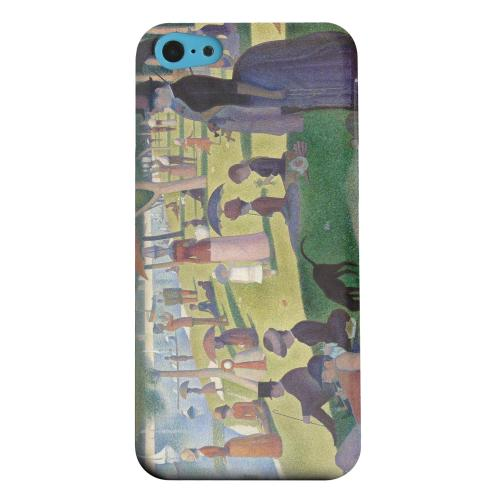 Geeks Designer Line (GDL) Apple iPhone 5C Matte Hard Back Cover - Georges Seurat Sunday Afternoon