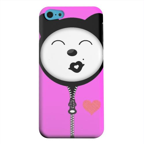 Geeks Designer Line (GDL) Apple iPhone 5C Matte Hard Back Cover - Kissycat