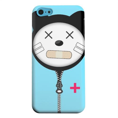 Geeks Designer Line (GDL) Apple iPhone 5C Matte Hard Back Cover - Calamikitty