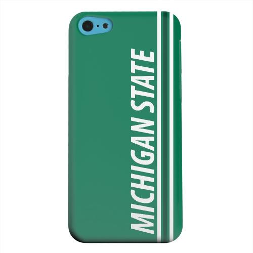 Geeks Designer Line (GDL) Apple iPhone 5C Matte Hard Back Cover - Michigan State
