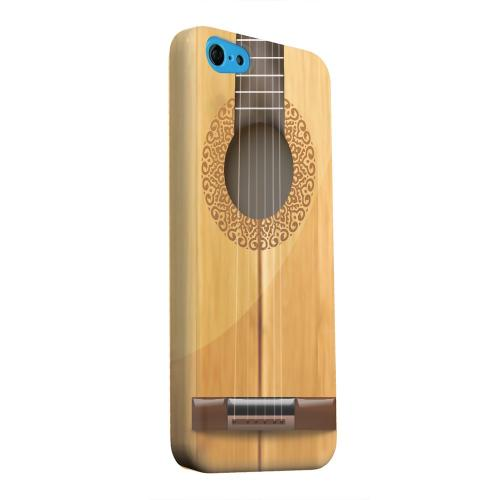 Geeks Designer Line (GDL) Apple iPhone 5C Matte Hard Back Cover - Acoustic Guitar