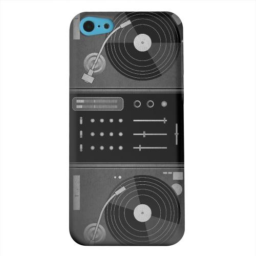 Geeks Designer Line (GDL) Apple iPhone 5C Matte Hard Back Cover - Turntabliss