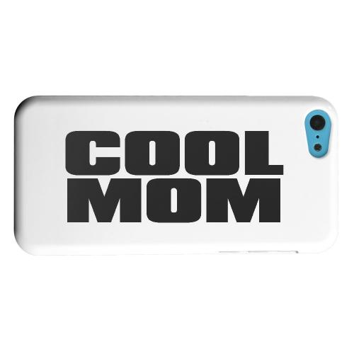 Geeks Designer Line (GDL) Apple iPhone 5C Matte Hard Back Cover - Cool Mom