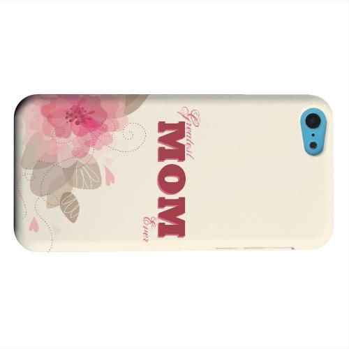 Geeks Designer Line (GDL) Apple iPhone 5C Matte Hard Back Cover - Greatest Mom Ever