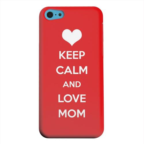 Geeks Designer Line (GDL) Apple iPhone 5C Matte Hard Back Cover - Love Mom