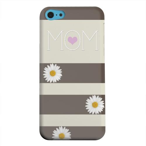 Geeks Designer Line (GDL) Apple iPhone 5C Matte Hard Back Cover - Mom Daisy
