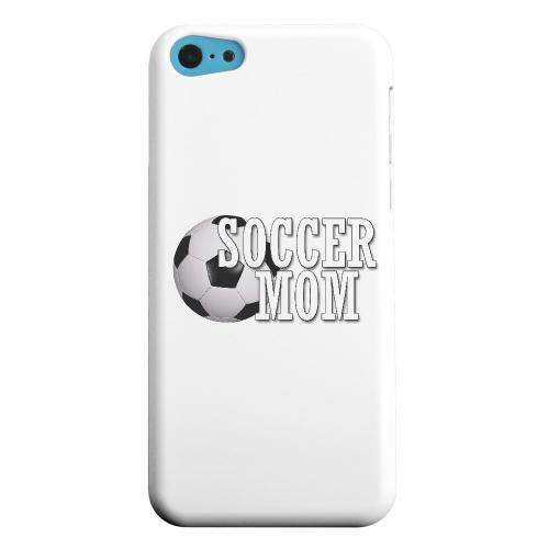 Geeks Designer Line (GDL) Apple iPhone 5C Matte Hard Back Cover - Soccer Mom