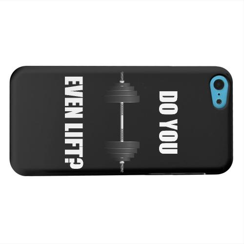 Geeks Designer Line (GDL) Apple iPhone 5C Matte Hard Back Cover - Do You Even Lift