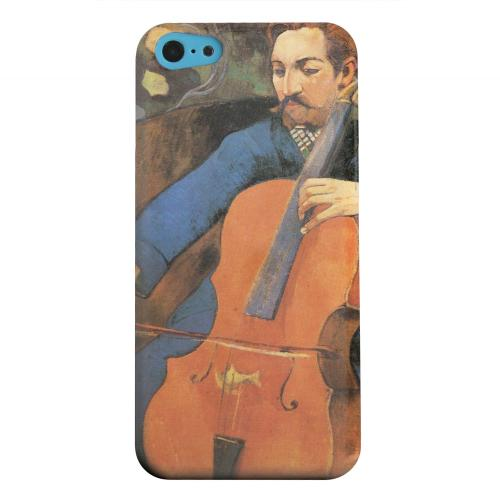 Geeks Designer Line (GDL) Apple iPhone 5C Matte Hard Back Cover - The Cellist by Paul Gauguin