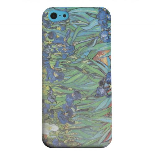 Geeks Designer Line (GDL) Apple iPhone 5C Matte Hard Back Cover - Irises by Vincent van Gogh