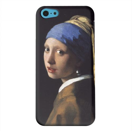 Geeks Designer Line (GDL) Apple iPhone 5C Matte Hard Back Cover - Girl with a Pearl Earring by Jan Vermeer