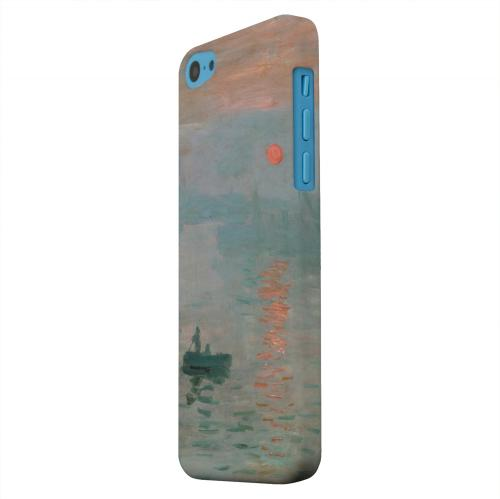 Geeks Designer Line (GDL) Apple iPhone 5C Matte Hard Back Cover - Impression Sunrise by Claude Monet