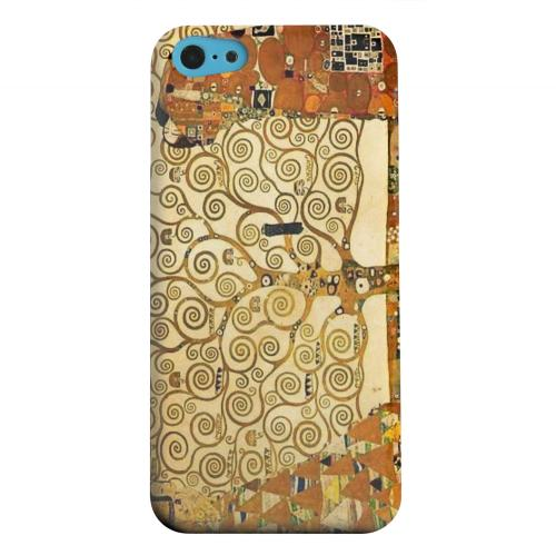 Geeks Designer Line (GDL) Apple iPhone 5C Matte Hard Back Cover - Tree of Life by Gustav Klimt