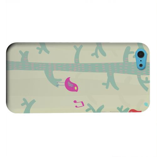 Geeks Designer Line (GDL) Apple iPhone 5C Matte Hard Back Cover - Spring Sing Forest