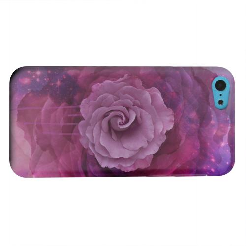 Geeks Designer Line (GDL) Apple iPhone 5C Matte Hard Back Cover - Space Bloom