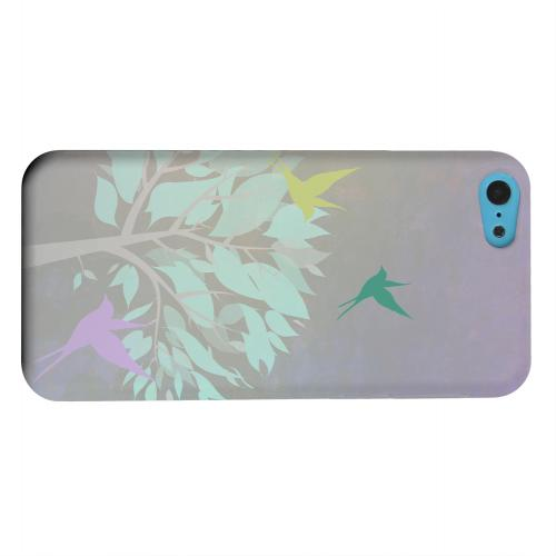 Geeks Designer Line (GDL) Apple iPhone 5C Matte Hard Back Cover - Swallow Flight