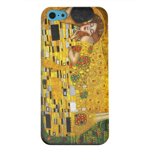 Geeks Designer Line (GDL) Apple iPhone 5C Matte Hard Back Cover - Gustav Klimt The Kiss
