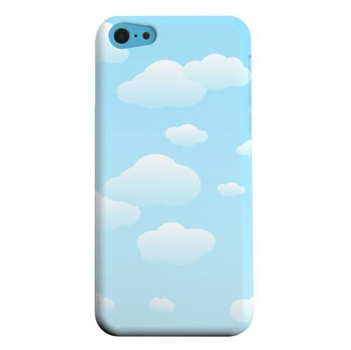 Geeks Designer Line (GDL) Apple iPhone 5C Matte Hard Back Cover - Peaceful Clouds