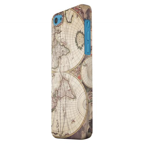 Geeks Designer Line (GDL) Apple iPhone 5C Matte Hard Back Cover - Terrarum Orbis