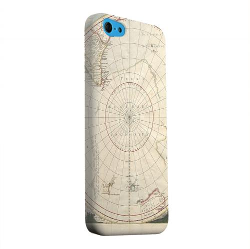 Geeks Designer Line (GDL) Apple iPhone 5C Matte Hard Back Cover - Terra Australis Incognita