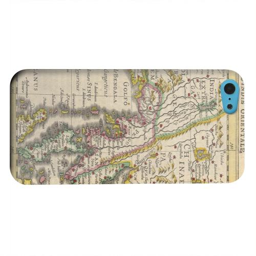 Geeks Designer Line (GDL) Apple iPhone 5C Matte Hard Back Cover - Indie Orientale