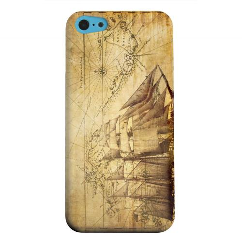 Geeks Designer Line (GDL) Apple iPhone 5C Matte Hard Back Cover - British Sea Power