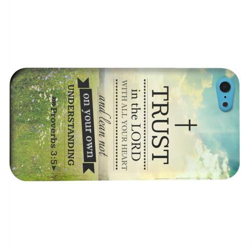 Geeks Designer Line (GDL) Apple iPhone 5C Matte Hard Back Cover - Proverbs 3:5