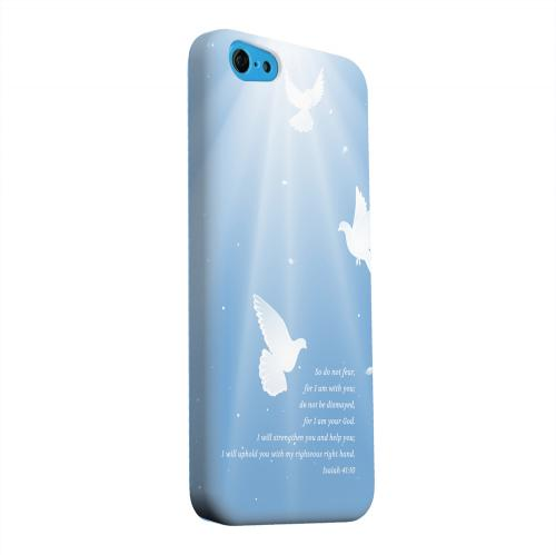 Geeks Designer Line (GDL) Apple iPhone 5C Matte Hard Back Cover - Isaiah 41:10