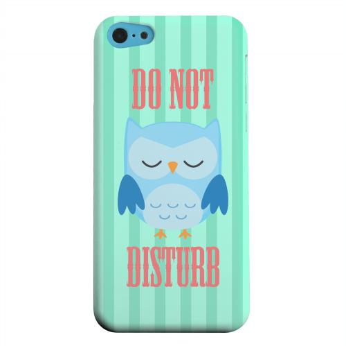 Geeks Designer Line (GDL) Apple iPhone 5C Matte Hard Back Cover - Do Not Disturb