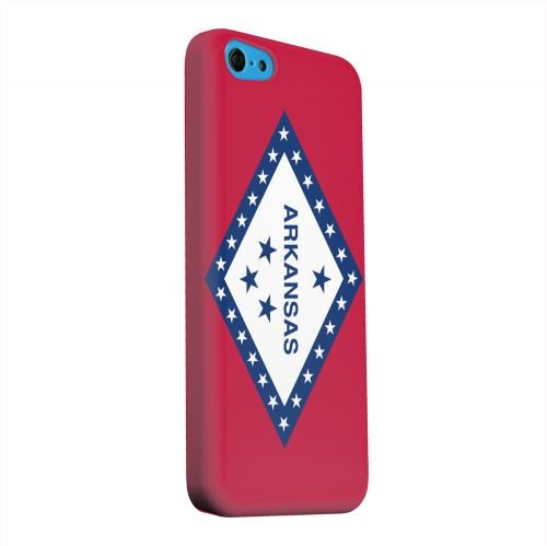 Geeks Designer Line (GDL) Apple iPhone 5C Matte Hard Back Cover - Arkansas