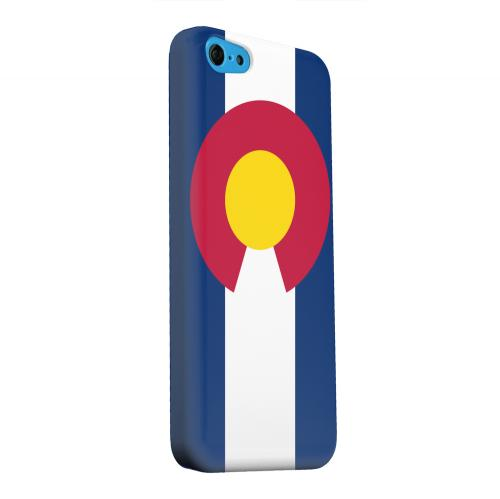 Geeks Designer Line (GDL) Apple iPhone 5C Matte Hard Back Cover - Colorado