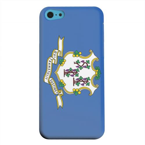 Geeks Designer Line (GDL) Apple iPhone 5C Matte Hard Back Cover - Connecticut