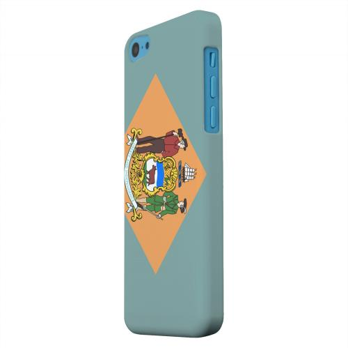 Geeks Designer Line (GDL) Apple iPhone 5C Matte Hard Back Cover - Delaware