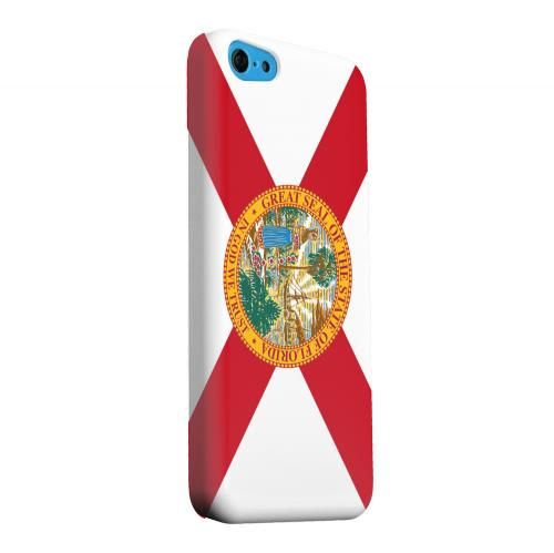 Geeks Designer Line (GDL) Apple iPhone 5C Matte Hard Back Cover - Florida