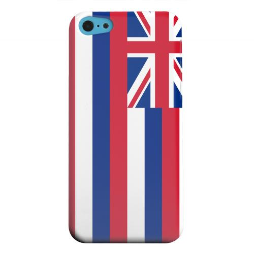 Geeks Designer Line (GDL) Apple iPhone 5C Matte Hard Back Cover - Hawaii