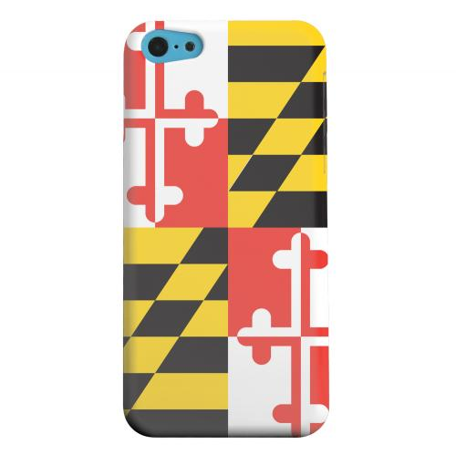 Geeks Designer Line (GDL) Apple iPhone 5C Matte Hard Back Cover - Maryland
