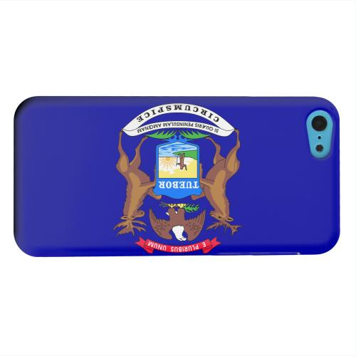 Geeks Designer Line (GDL) Apple iPhone 5C Matte Hard Back Cover - Michigan