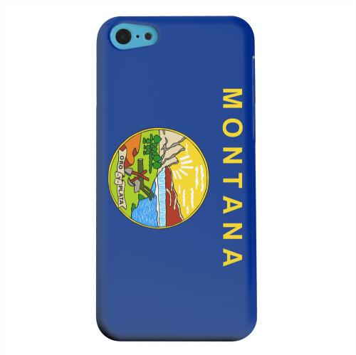 Geeks Designer Line (GDL) Apple iPhone 5C Matte Hard Back Cover - Montana