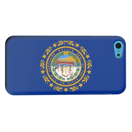 Geeks Designer Line (GDL) Apple iPhone 5C Matte Hard Back Cover - New Hampshire