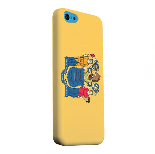 Geeks Designer Line (GDL) Apple iPhone 5C Matte Hard Back Cover - New Jersey